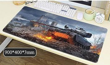 Tank Gaming Mouse Mat Table Pad Large Size Mejora la ...