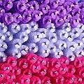 300 Pieces Colored Disposable Mascara Wands Eyelash Eye Lash Brush Makeup Applicators Kit