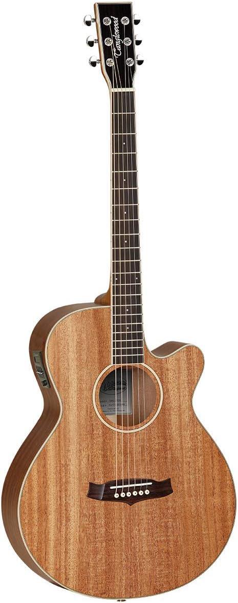 Tanglewood TWU SFCE Union Folk Acoustic Guitar Solid Mahogany - Satin - Cutaway