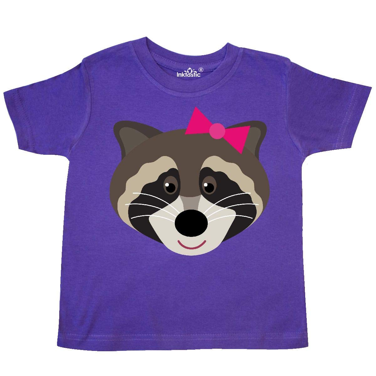 inktastic Raccoon Girl Animal Toddler T-Shirt