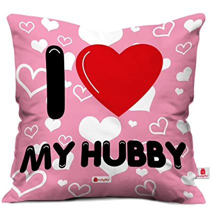 Buy Indigifts I Love My Hubby Ceramic Coffee Mug With Micro Satin