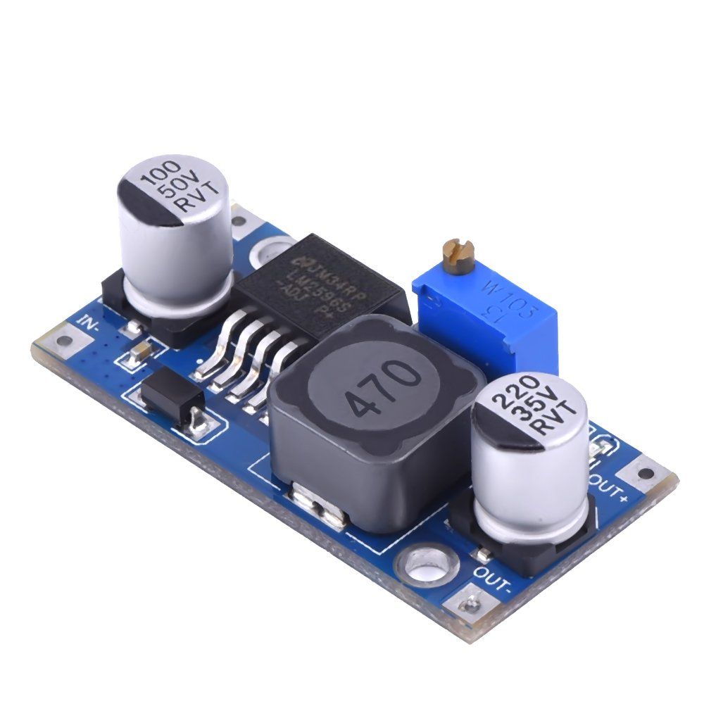 6 Pack LM2596 DC to DC Buck Converter 3.0-40V to 1.5-35V Power Supply Step Down Module