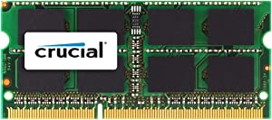 Crucial 2GB DDR2 667 MHz (PC2-5300) CL5 SODIMM 200-Pin for Mac (CT2G2S667M )