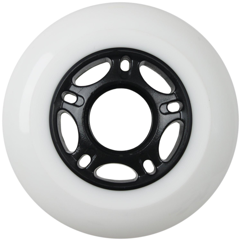 OUTDOOR Inline Skate Wheels ASPHALT Formula 72MM 89a WHITE x8