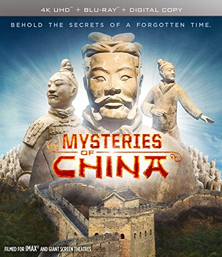 4K Blu-ray : Mysteries Of China (With Blu-Ray, 4K Mastering, Widescreen, 2 Pack, 2 Disc)