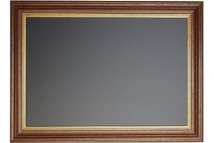 Pizarra con marco de madera de nogal de oro antiguo, 100 x ...