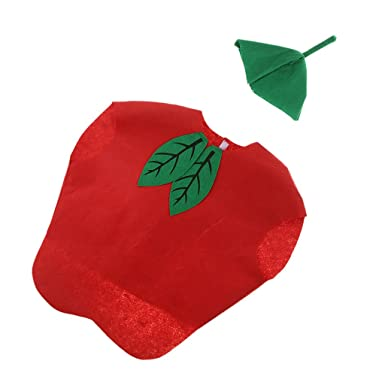 2e9f4ee9 Homyl Kids Girls' Cute fruits/vegetables Costume Non-woven Fabric Outfit  Party Fancy. Roll over image to ...
