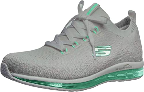 Skechers Skech-Air Damen - Hellgrau, Petrol, Zapatillas de Running ...