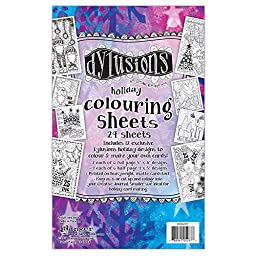 Dyan Reaveley\'S Dylusions Colouring Sheets 5\