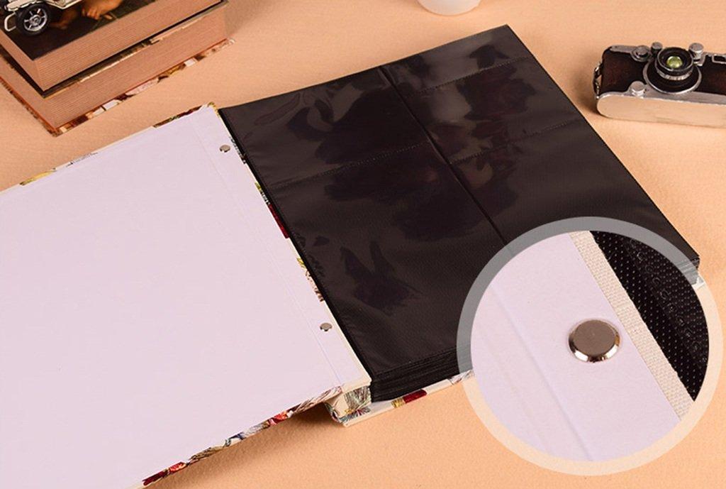 Album de Fotos Álbum híbrido intersticial, Jacquard de algodón, algodón, algodón, 848 Fotos de Gran Capacidad, álbum de bebé para niños de la Familia Fotos Turismo Amor (Tamaño : 36x36x5cm) ee34c5