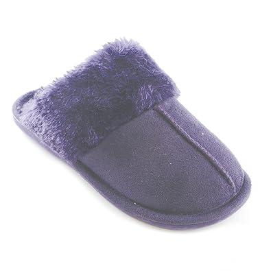 KS Brands, Damen Clogs & Pantoletten , violett - violett - Größe: 40/41