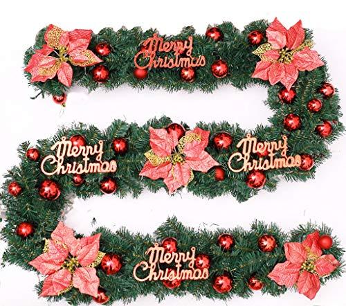 Decoración De Navidad, Estilo A, B Luces De Navidad Corona De Vid Chimenea De Guirnaldas Artificiales Decoración De...