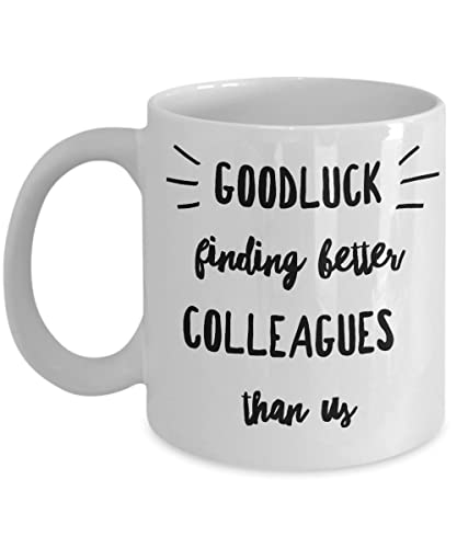 Funny Colleague Coworkers mugs gifts best coffee tea cup ...