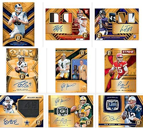 2019 Panini Gold Standard NFL Football HOBBY box (7 cards)