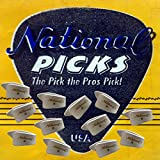 National Thumb Picks Banjo picks Dobro Picks Bluegrass Pick 12 Pack White Medium