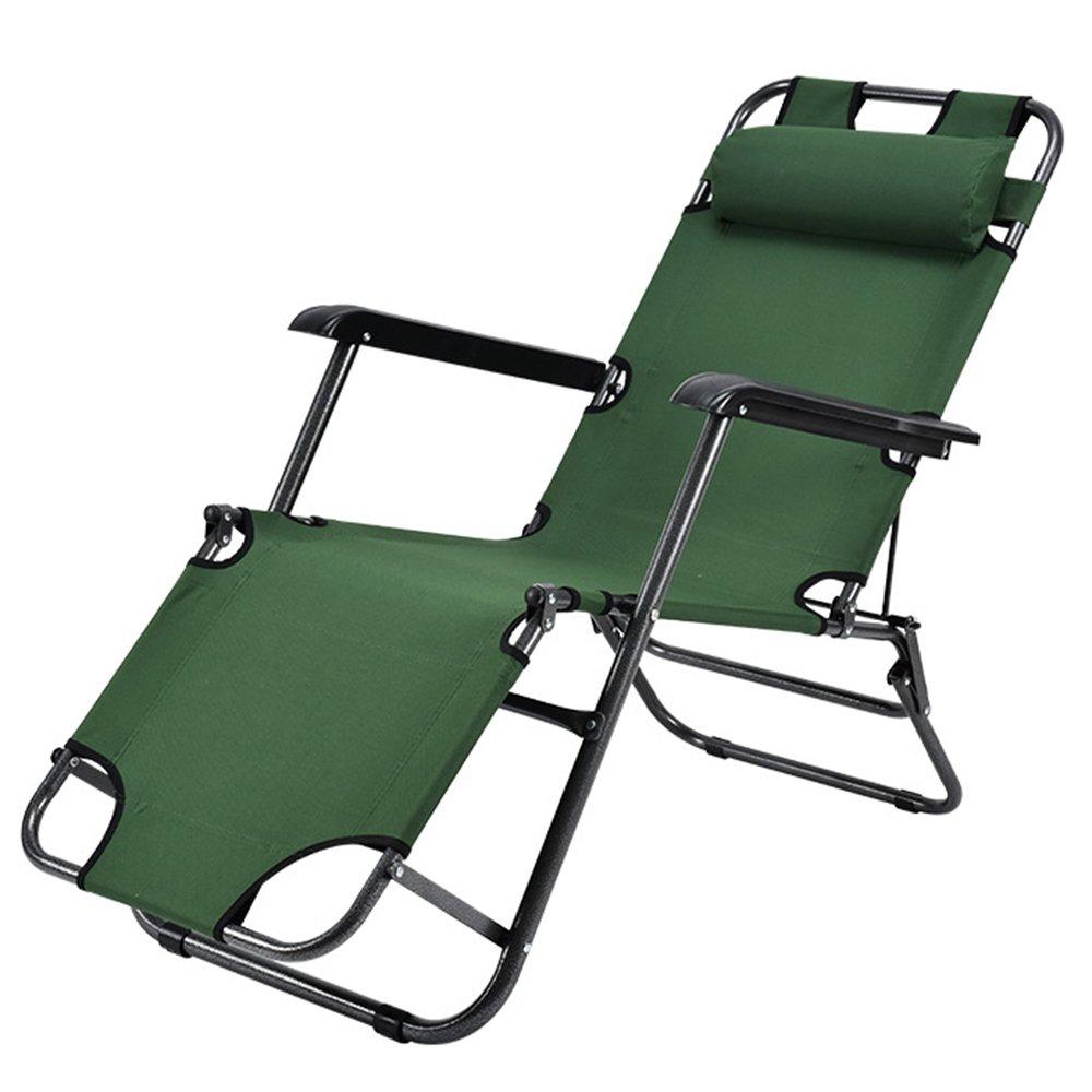 QFFL 多機能シンプルな実用的な折りたたみチェア/オフィスシエスタ省スペースリクライニング/ポータブル屋外ラウンジチェア/快適な背もたれの椅子 アウトドアスツール (色 : A, サイズ さいず : 178cm-1#) B07F5TNLL8 178cm-1# A A 178cm-1#