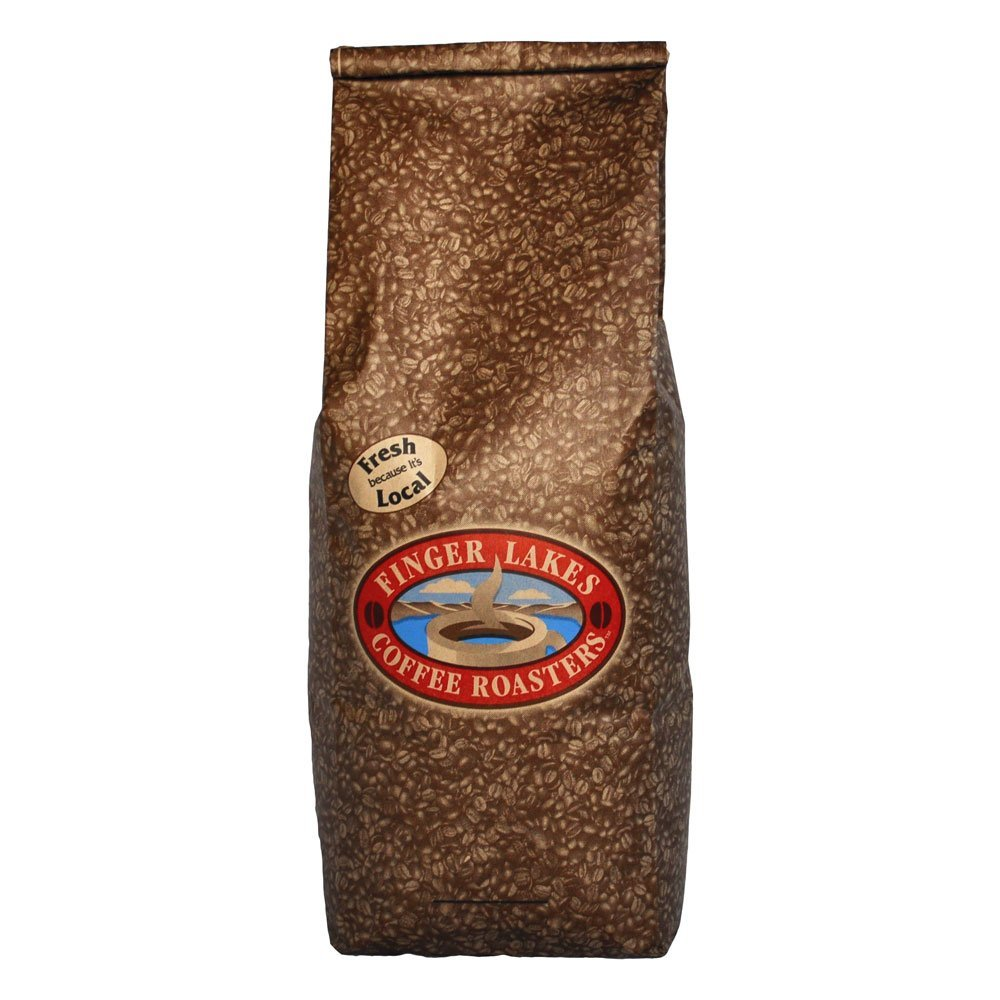Finger Lakes Coffee Roasters, Jamaican Me Crazy Coffee, Whole Bean, 5-pound bag