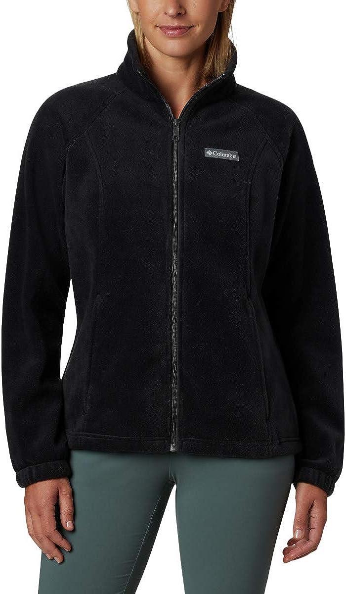 Columbia Women's Benton Springs Full Zip Fleece Jacket at  Women's Coats Shop