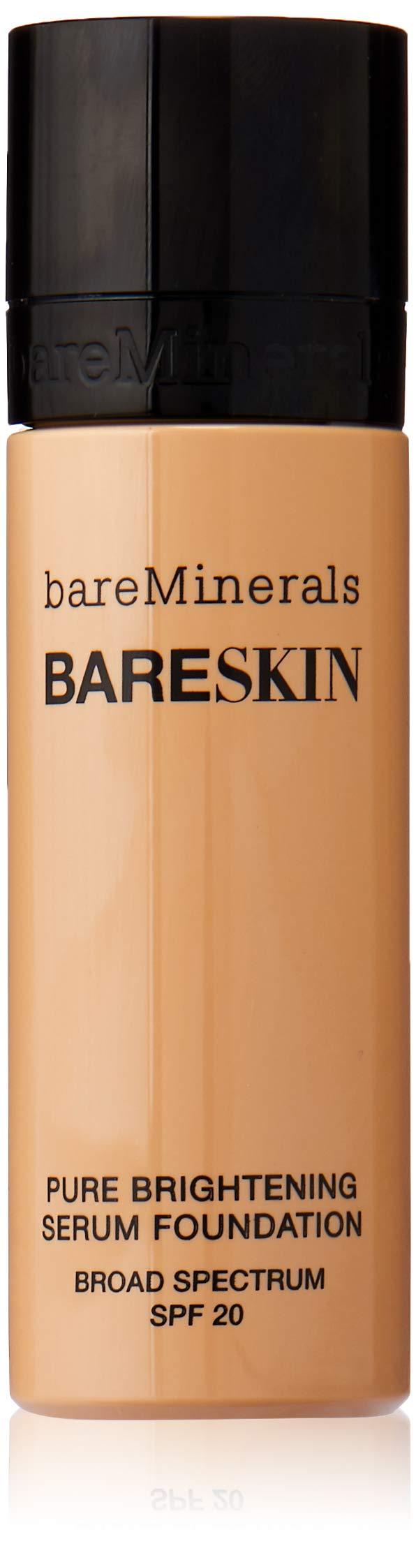bareMinerals bareSkin Pure Brightening Serum Foundation SPF 20, Bare Natural 07, 1 Fl Oz by bareMinerals