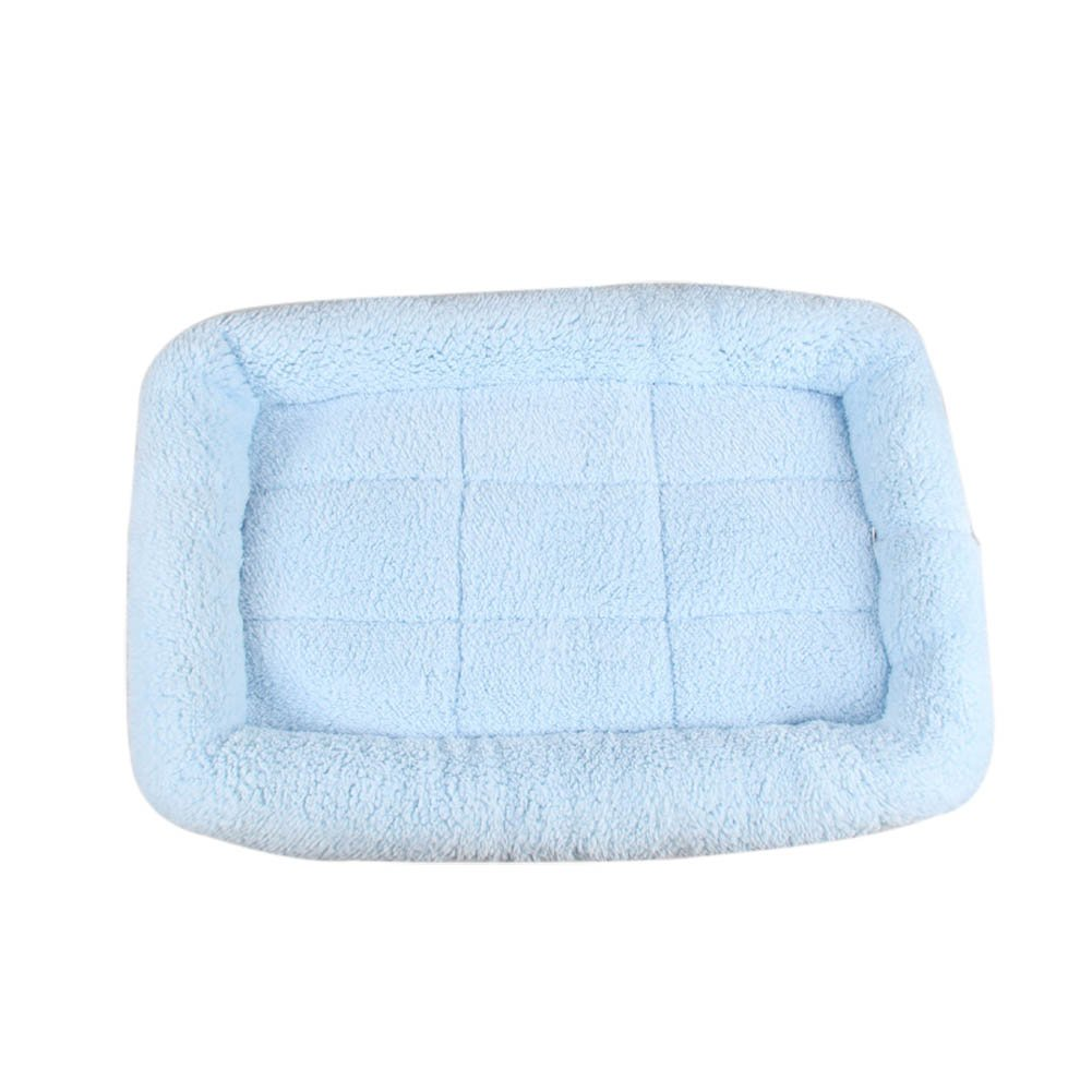 bluee 2Xl bluee 2Xl STARmoon Pet Bed Cushion Mat Dog Cat Kennel Crate Cozy Soft House Car Pad Pets Products (bluee,2XL)