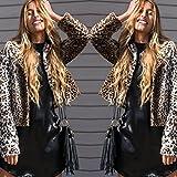 Search : Kinrui Fashion Fashion Womens Leopard Faux Fur Jacket Coat Parka Outwear Long Sleeve Cardigan