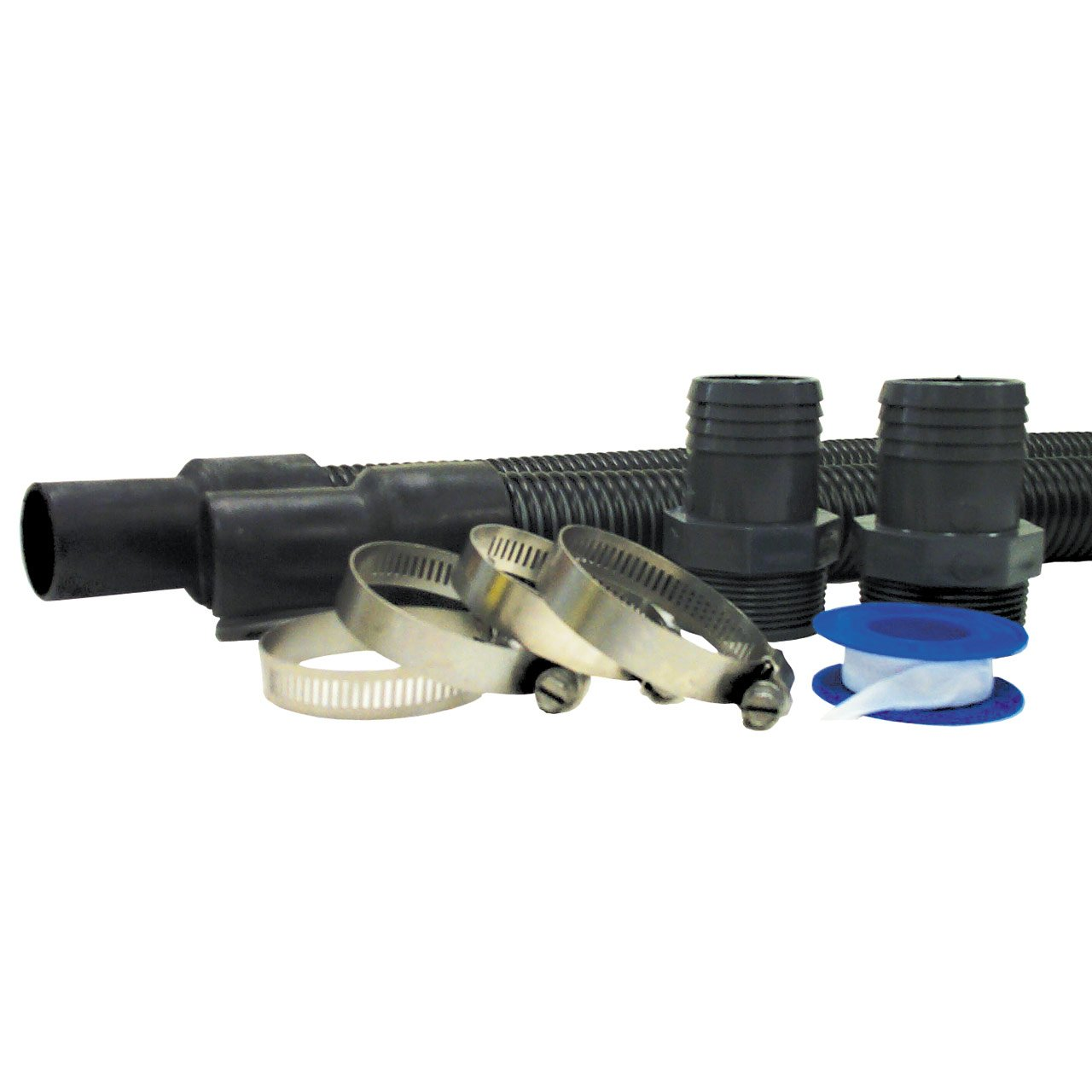 Hayward EC1155 1-1/2-Inch Suction and Discharge Hose Package