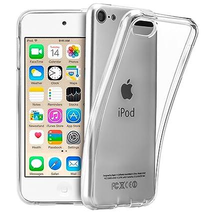 TopACE® TPU Hülle Schutzhülle Crystal Case Durchsichtig Klar Silikon transparent für Apple iPod touch (6. Generation) 2015 (C