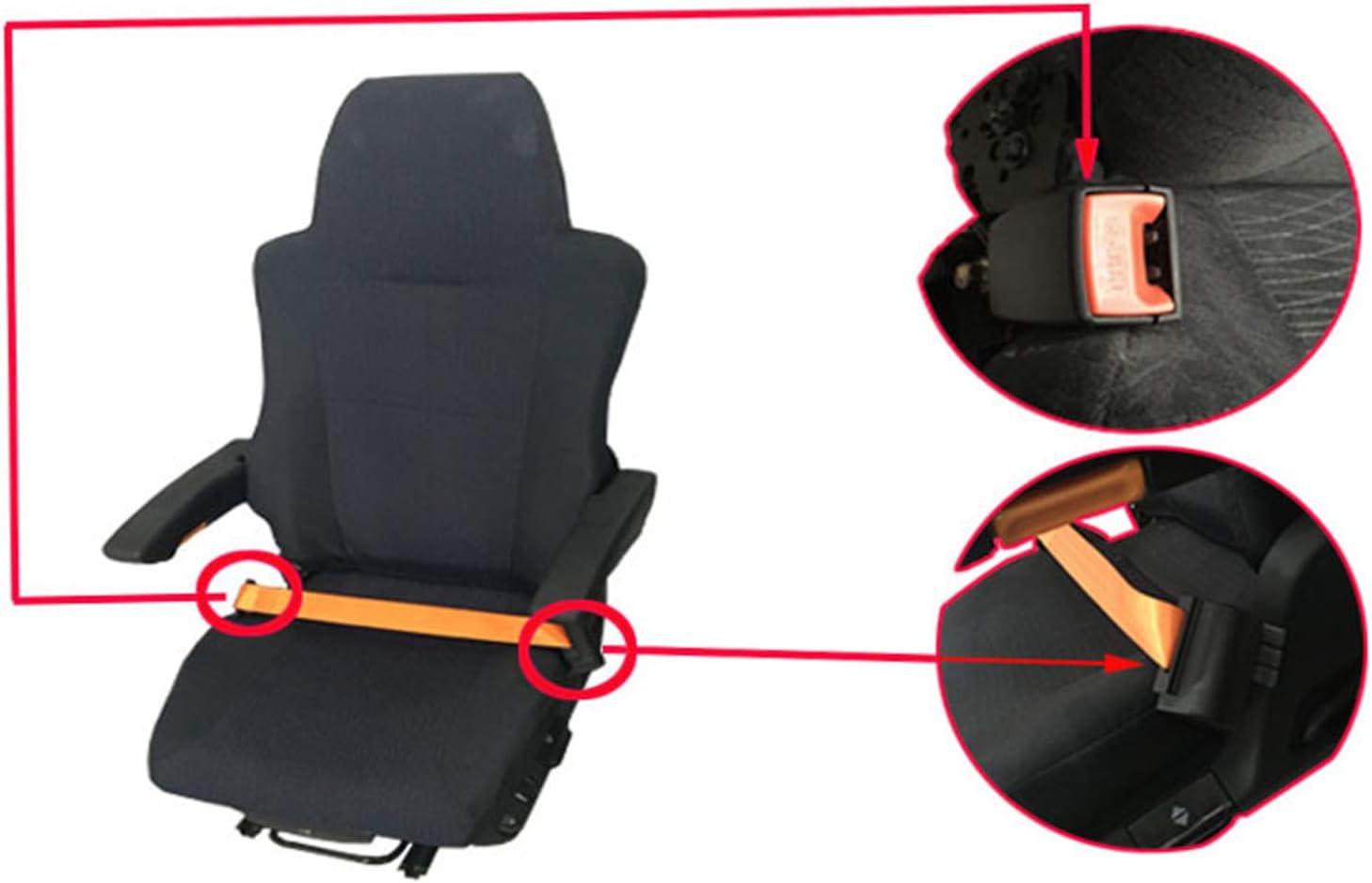 Xbshmw Automatischer Versenkbarer 2-Punkt-sicherheitsgurt F/ür Fahrzeugunterhaltung Sausr/üstung und Sicherheitsgurt F/ür Gabelstapler