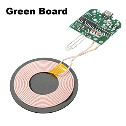 Amazon com: DIY Qi Wireless Charger PCBA Circuit Board with