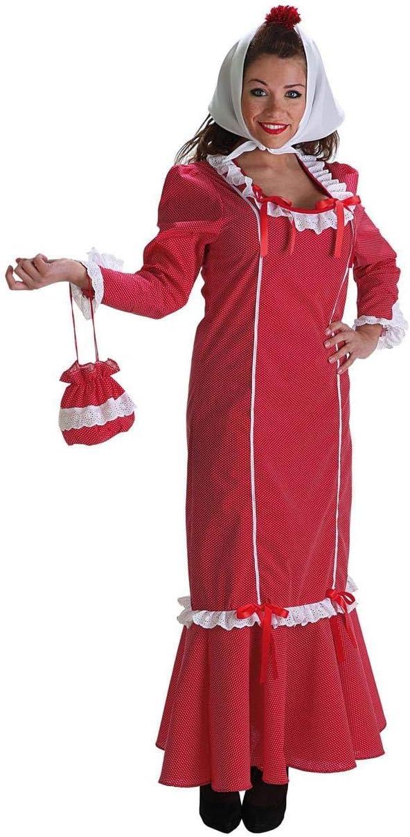 Creaciones Llopis- Disfraz Adulto, Color Rojo (4414-AL): Amazon.es ...