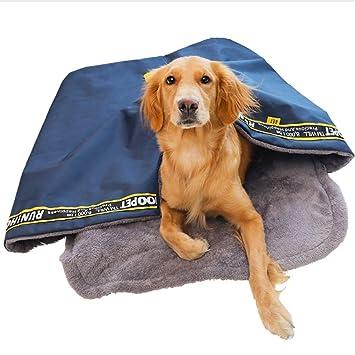 Tzdd Saco de Dormir para Perro, tamaño pequeño, Mediano y Grande, diseño de