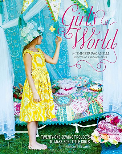 Girl Needlepoint (Girl's World: Twenty-One Sewing Projects to Make for Little Girls)
