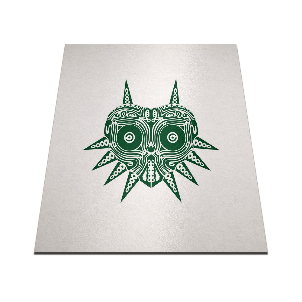 Amazon.com: Tribal Majora s Mask Pegatina de Vinilo Para ...