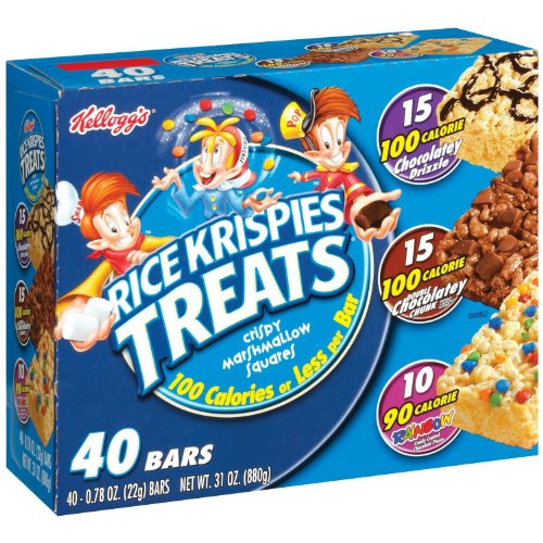 rice krispies treats rainbow - 4