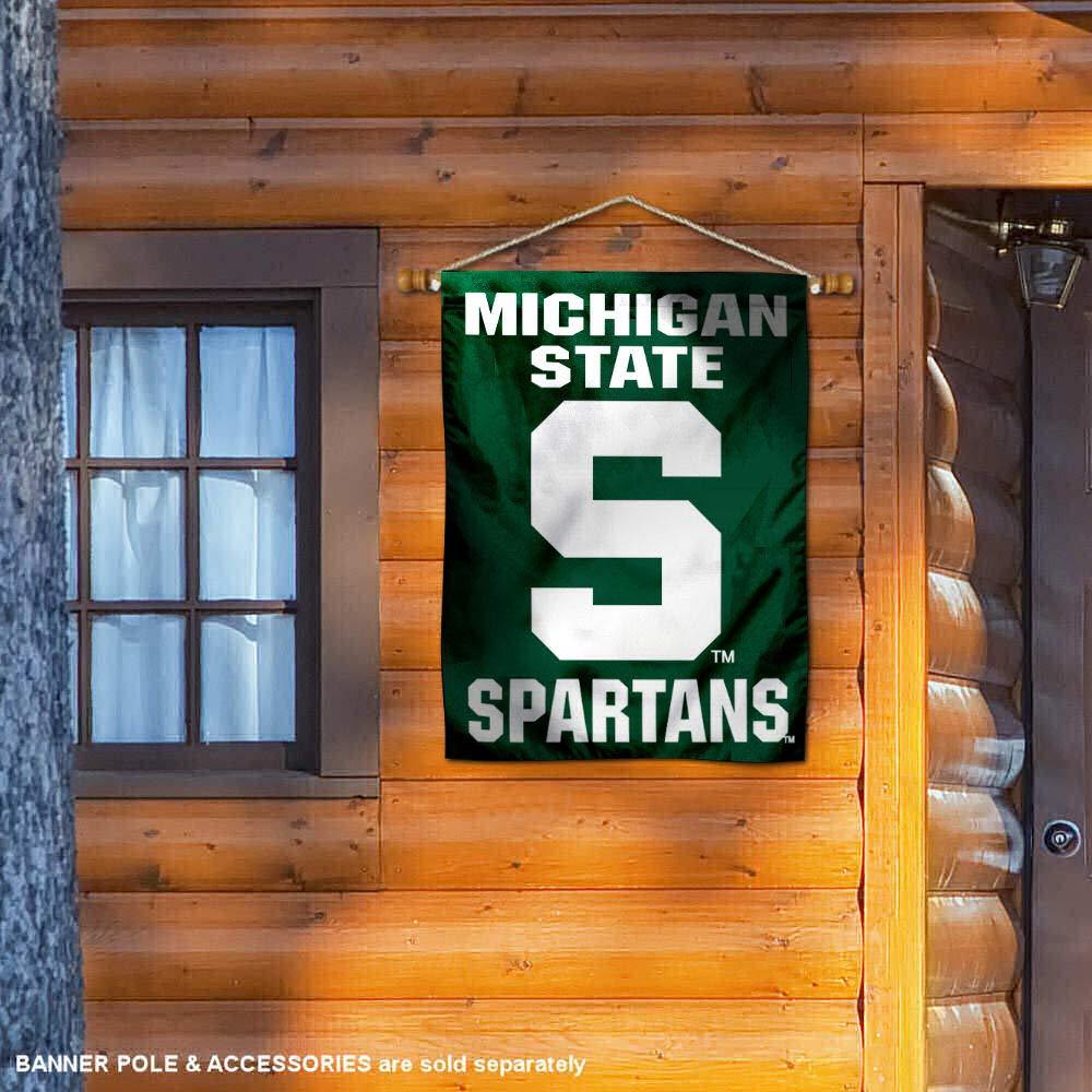Michigan State University Banner House Flag