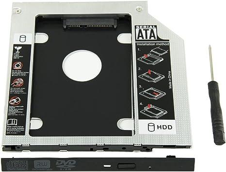 UCEC Bahía Universal de disco duro ODD SSD Hard Drive Caddy 9,5mm ...