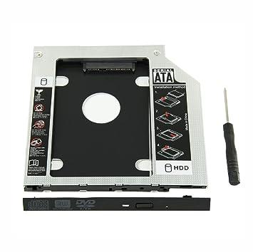 UCEC Bahía Universal de disco duro ODD SSD Hard Drive Caddy 9,5mm Ba´