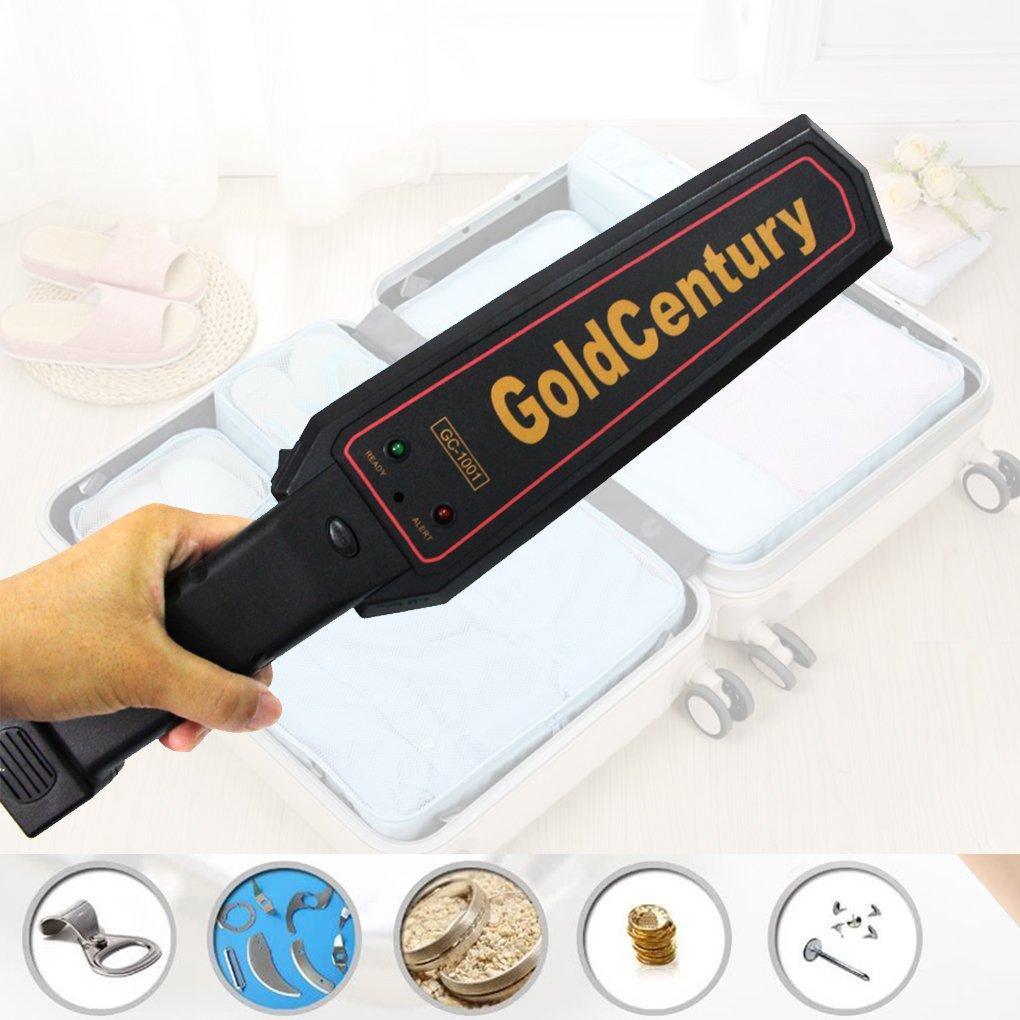 Lorsoul Detector de Metales Handheld Profesional Buscador de Oro Electrónico Cable Sensor de Alta sensibilidad del escáner Seeker: Amazon.es: Hogar