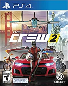 the crew 2 playstation 4 standard edition. Black Bedroom Furniture Sets. Home Design Ideas