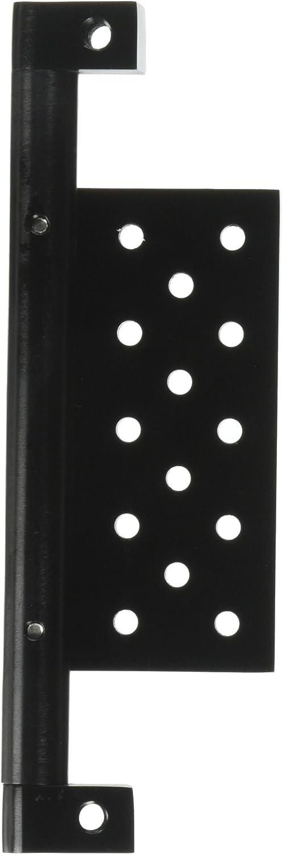 Yana Shiki USA A3024B Black Undertail Mount License Plate Tag Bracket with Black Finish, Universal fit
