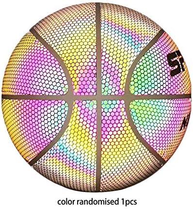 Baloncesto resplandeciente Baloncesto Fluorescente Luna Luminoso ...