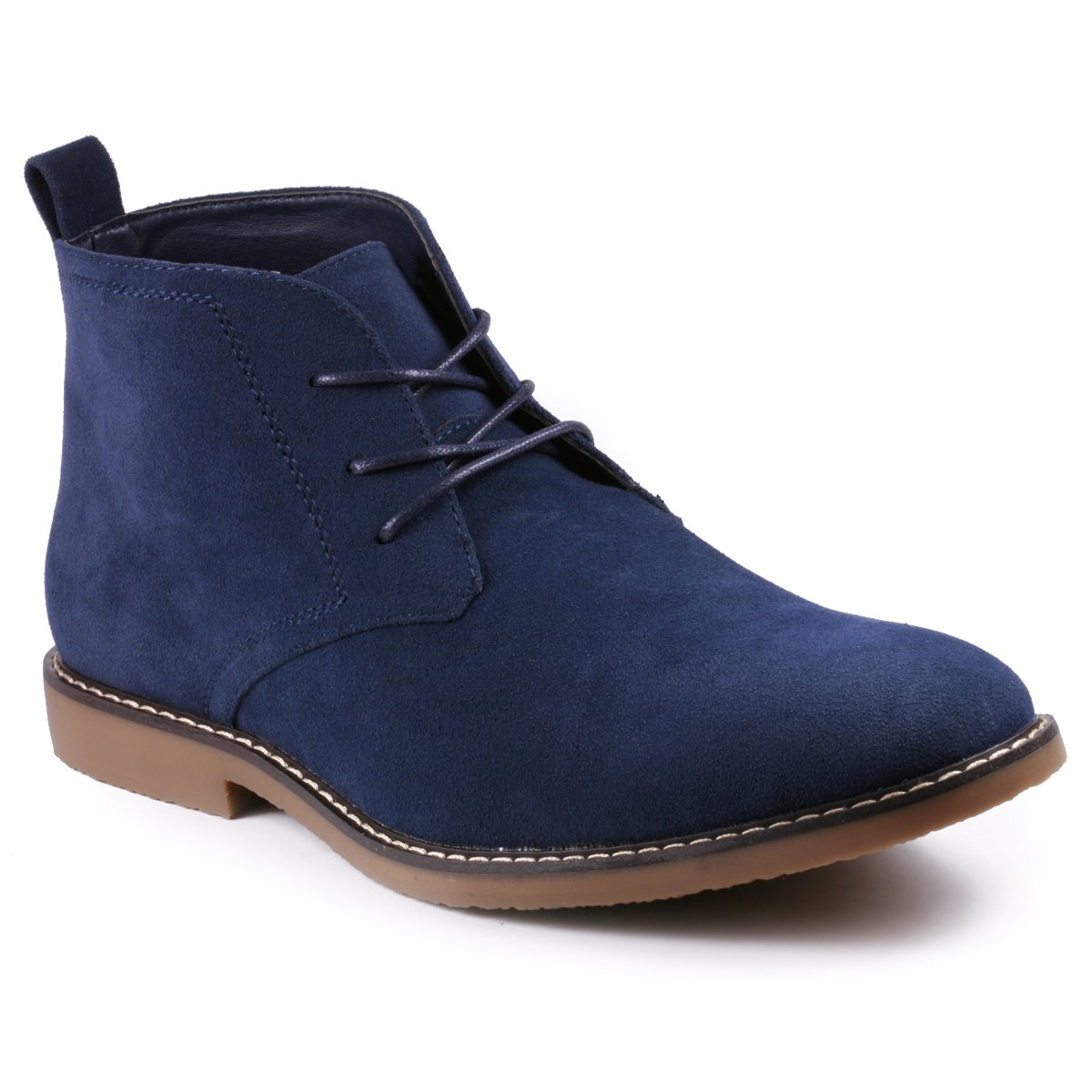Metrocharm MC127 Mens Lace Up Casual Fashion Ankle Chukka Boots