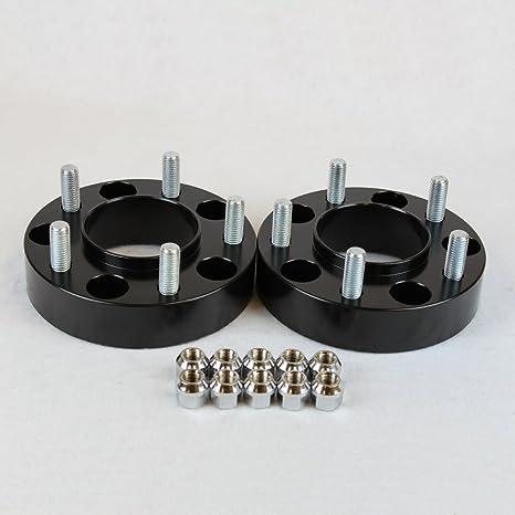 2 hubcentric rueda adaptadores espaciadores para poste de 5 Ford y Lincoln camiones 5 x 135