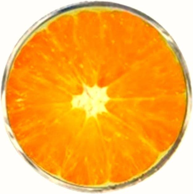 /Orange Bassin et Marron pour Homme Orange Fruits Boutons de Manchette/