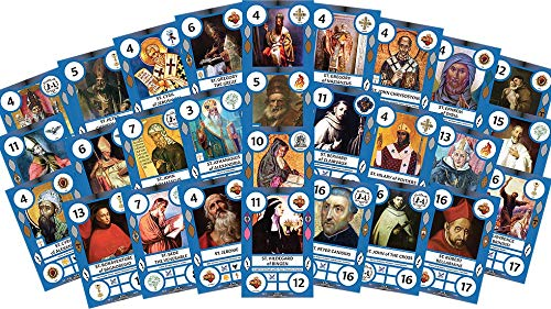 Saint Cards Doctors of the Church Expansion (28 SaintCards)