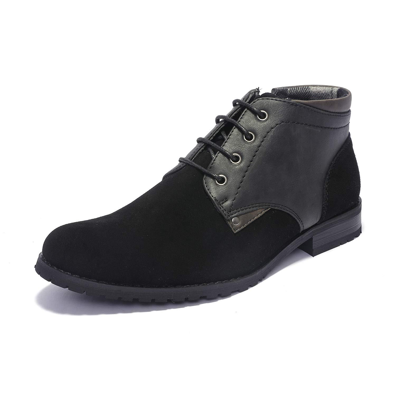 Bruno Marc Men's Dress Chukka Boots Adam_H2 Black Size 9 M US