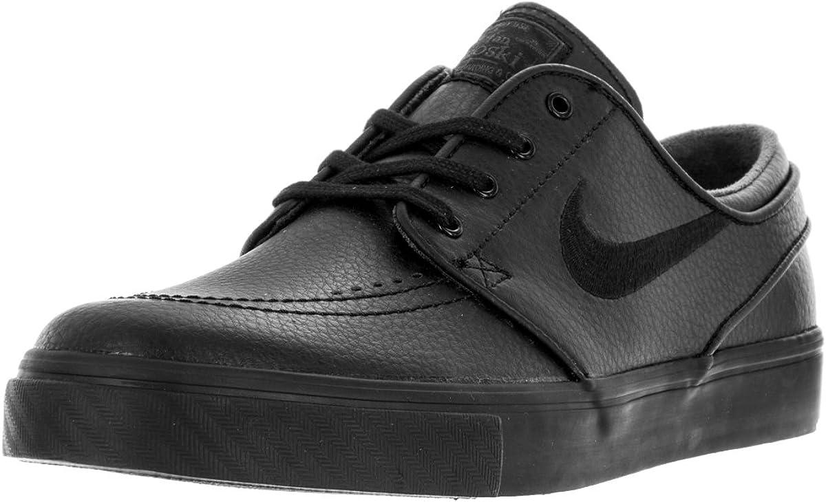 Ventilación sí mismo Ten cuidado  Amazon.com | Nike Men's Zoom Stefan Janoski L Black/Black Black Anthracite  Skate Shoe (4.5) | Shoes