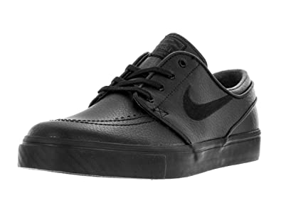 best service 8559d 7ff85 Amazon.com | Nike Mens Zoom Stefan Janoski L Black/Black Black Anthracite Skate  Shoe 8.5 | Skateboarding