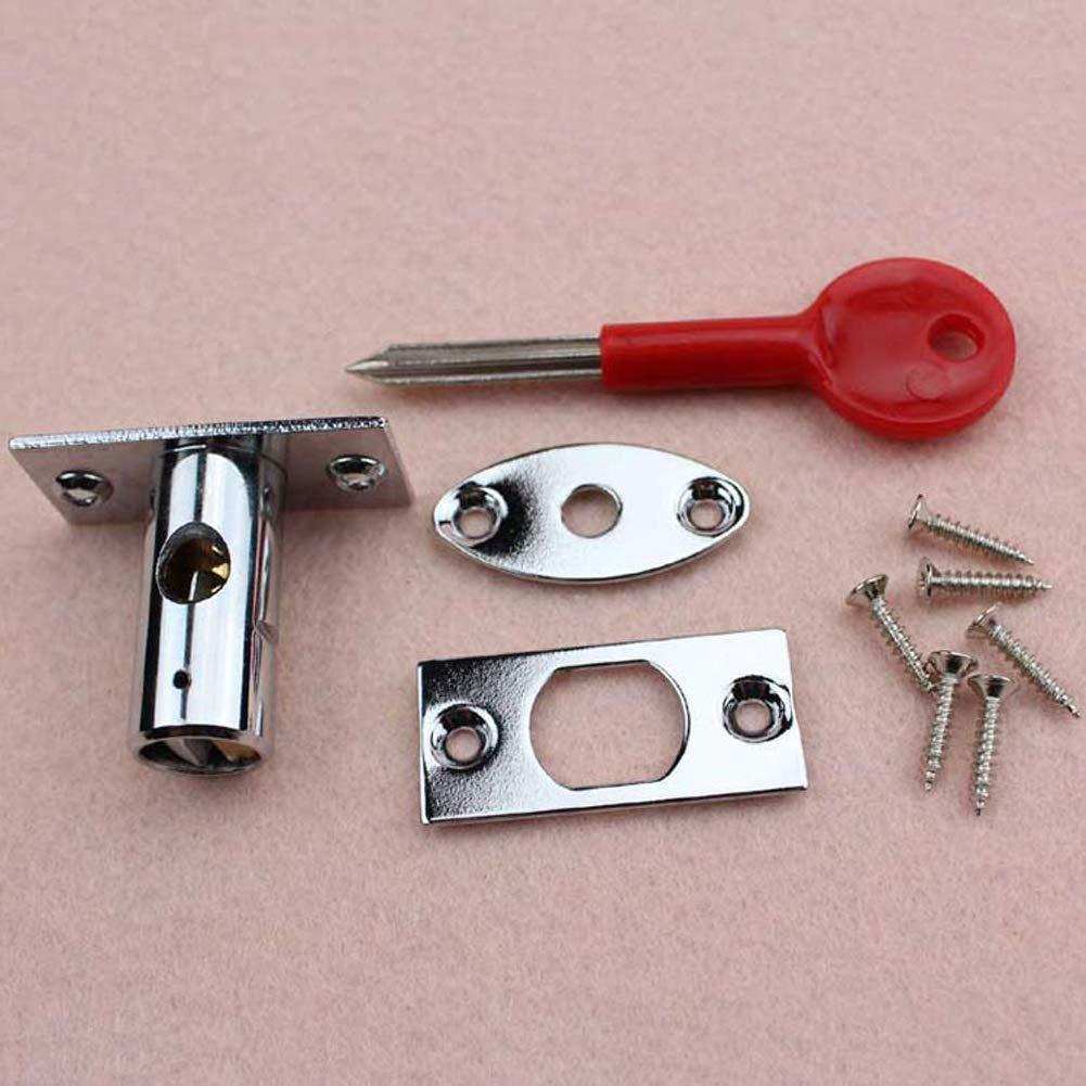 oficina proporciona una protecci/ón mejorada hogar Pernos de seguridad para puerta de lat/ón con llave pulida para el lugar de trabajo