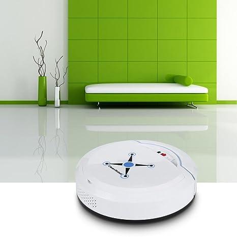 zarupeng inteligente Robot aspirador de automática Mini de barredora Smart kehr Robot talla única Weiß